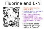 fluorine and e n