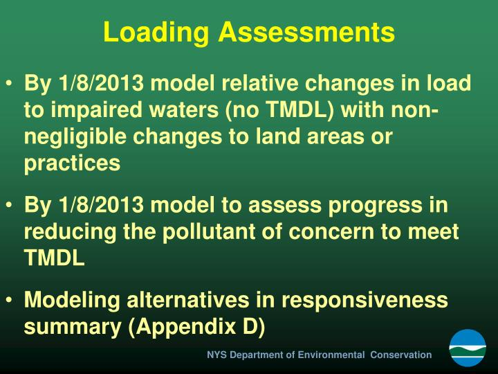 Loading Assessments