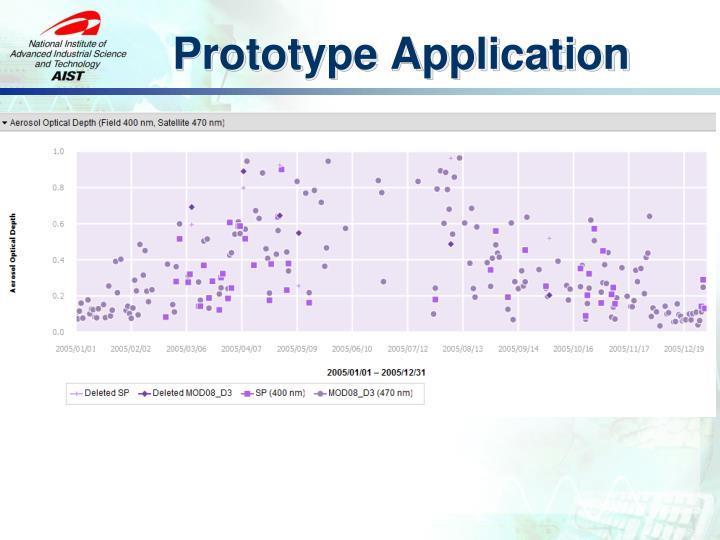 Prototype Application