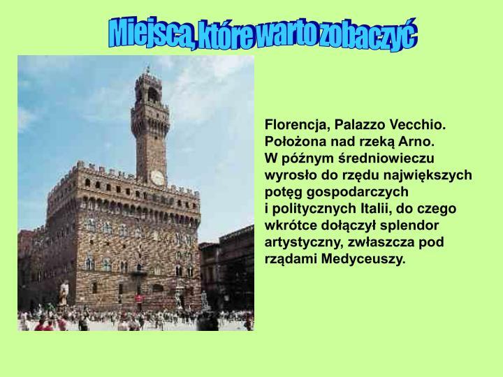 Florencja, Palazzo Vecchio.