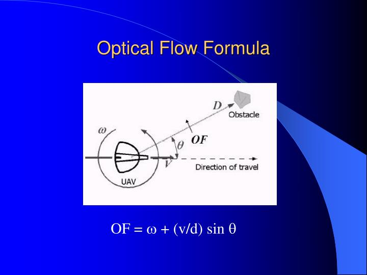 Optical Flow Formula