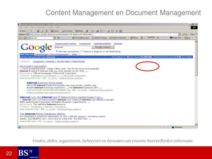 Content Management en Document Management