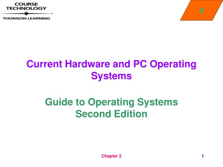 current hardware and pc operating systems n.