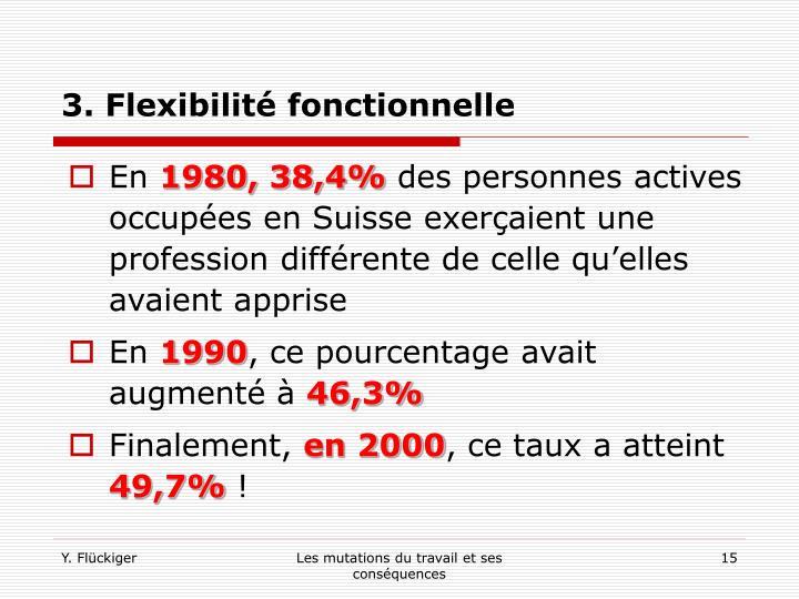 3. Flexibilité fonctionnelle