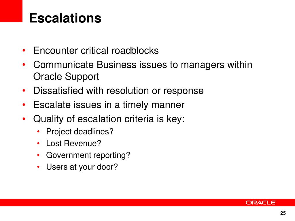 PPT - Working Effectively with Oracle Support PowerPoint