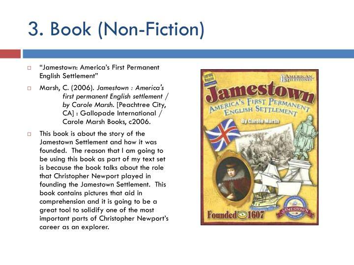 3. Book (Non-Fiction)