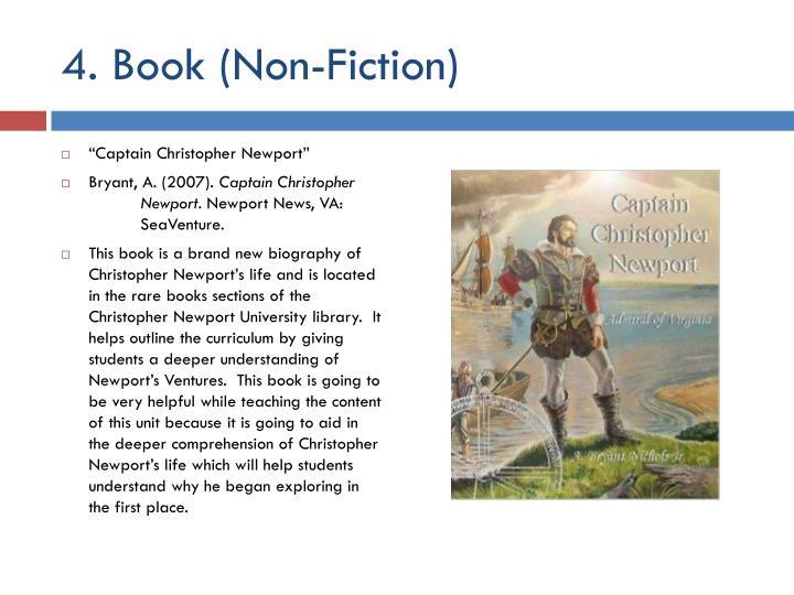 4. Book (Non-Fiction)