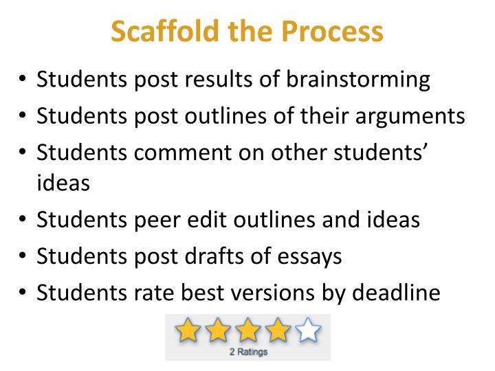 Scaffold the Process