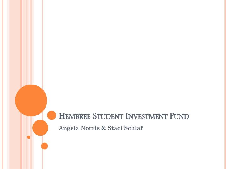 hembree student investment fund n.