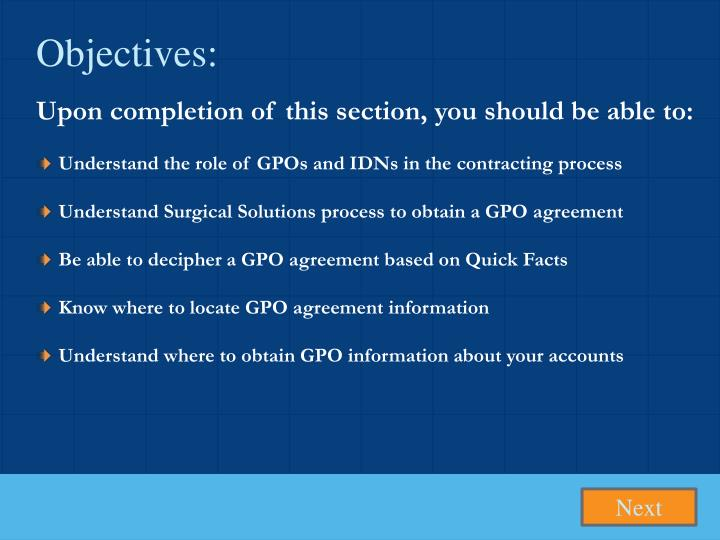 Ppt Charting Your Course To Optimal Gpo And Idn Relationships