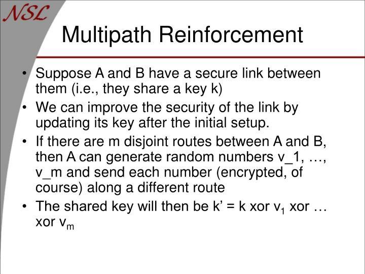 Multipath Reinforcement