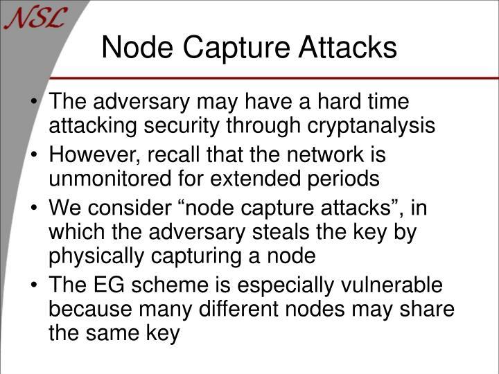 Node Capture Attacks