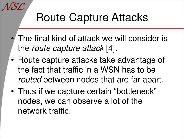 Route Capture Attacks