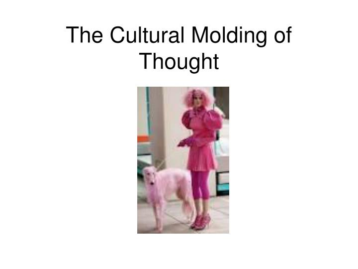 The cultural molding of thought
