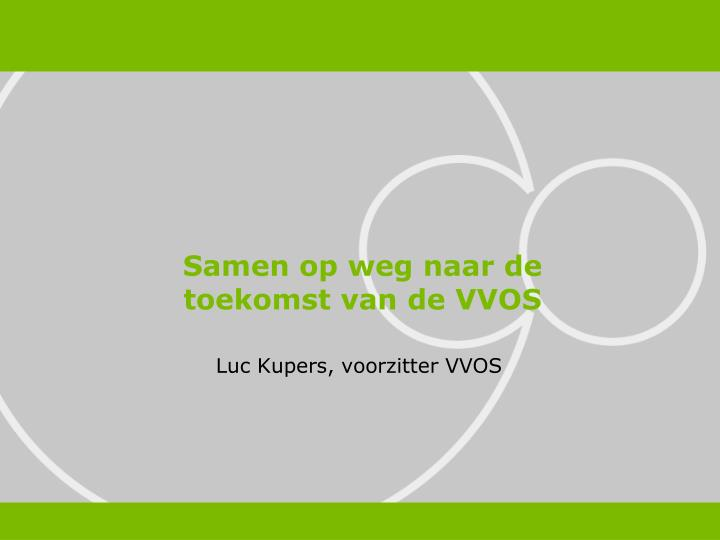 Luc kupers voorzitter vvos