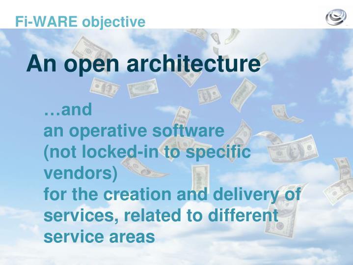 Fi ware objective