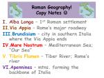 roman geography copy notes