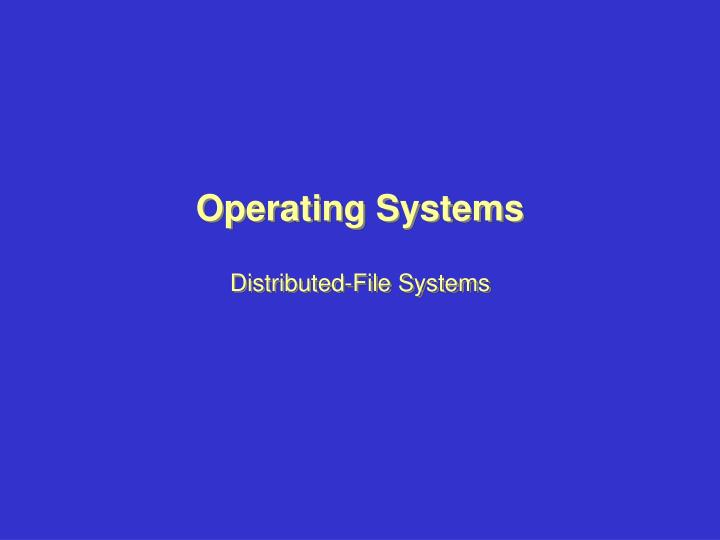 operating systems research topics