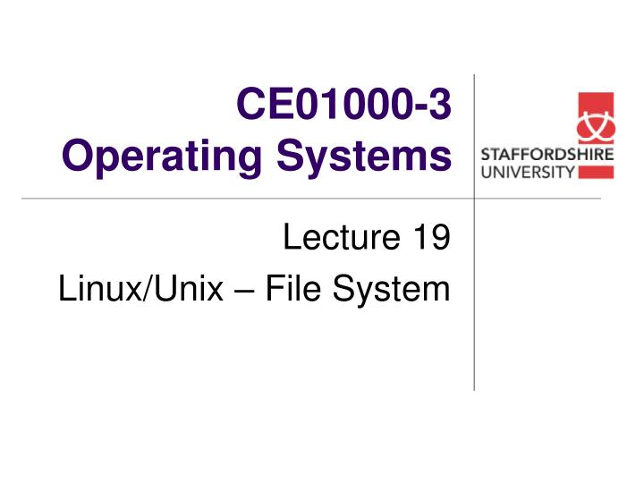 ce01000 3 operating systems n.