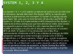 system 1 2 3 y 4