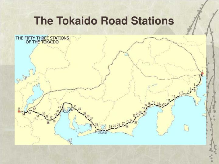 The Tokaido Road Stations