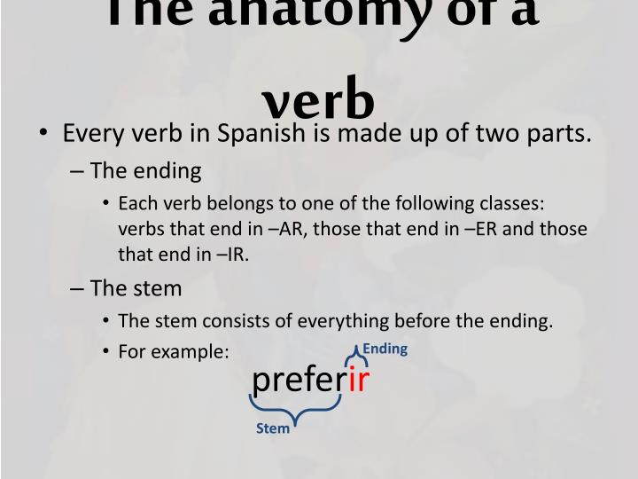 Ppt Stem Changing Verbs Powerpoint Presentation Id6323429
