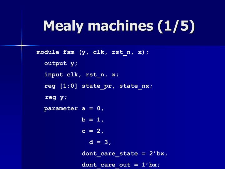 Mealy machines (1/5)