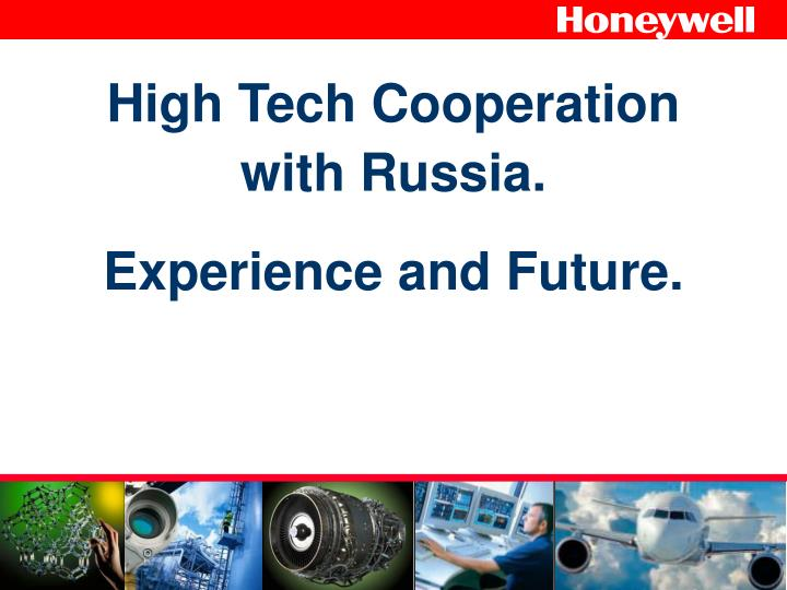 high tech cooperation with russia experience and future n.