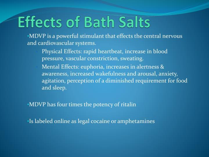Effects of Bath Salts