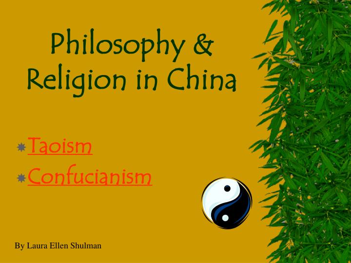 a comparison of taoism and confucianism in chinese religions