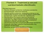 prioriteet 4 teadmised ja oskused uuendusmeelseks ettev tluseks1