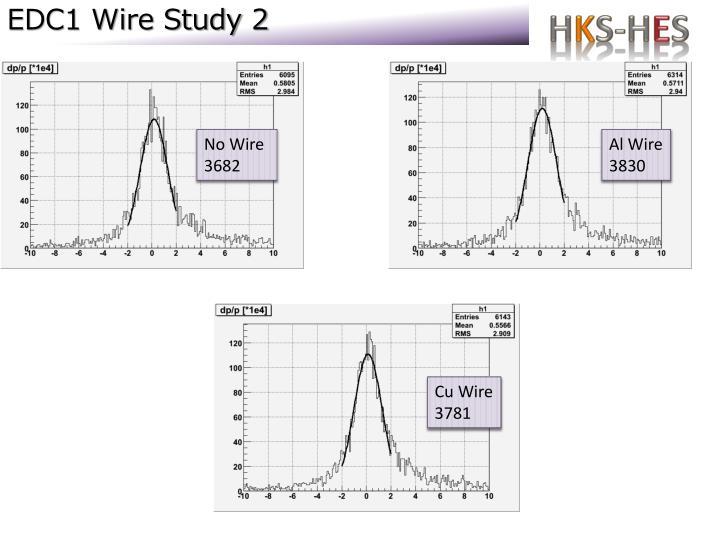 Edc1 wire study 2