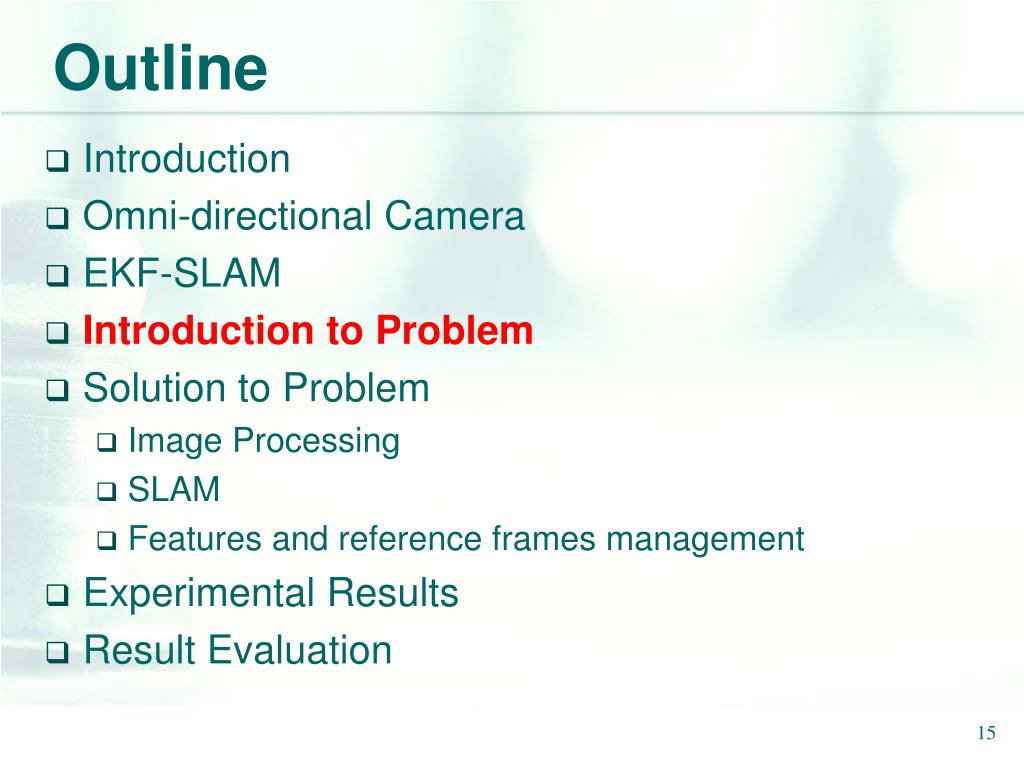 PPT - 3D SLAM for Omni-directional Camera PowerPoint Presentation