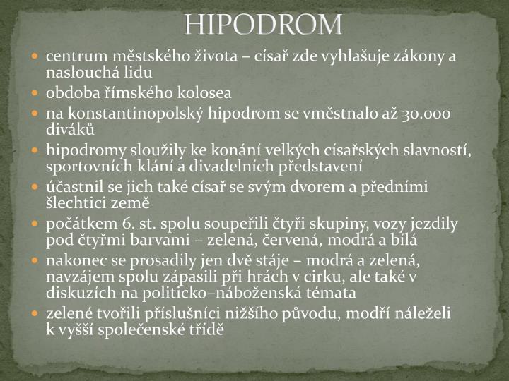 HIPODROM