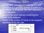 swap swp