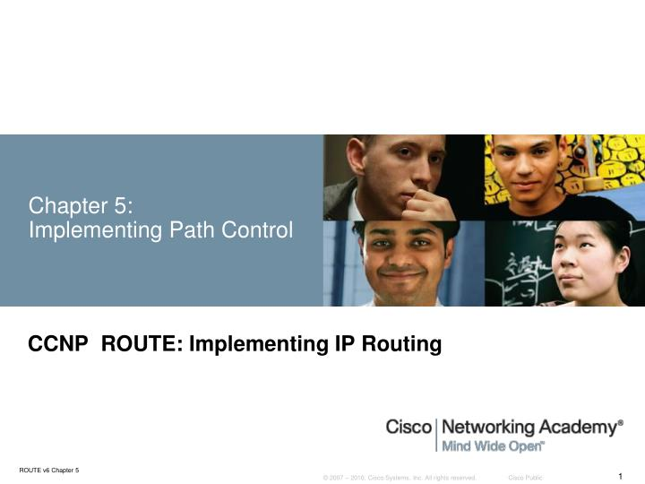 chapter 5 implementing path control n.