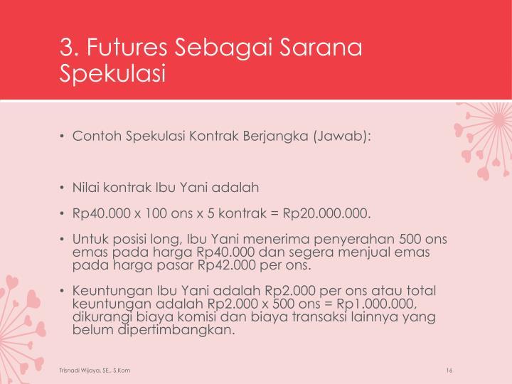 3. Futures