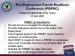 pre deployment family readiness conference pdfrc
