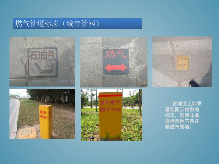 燃气管道标志(城市管网)