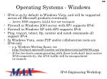 operating systems windows1