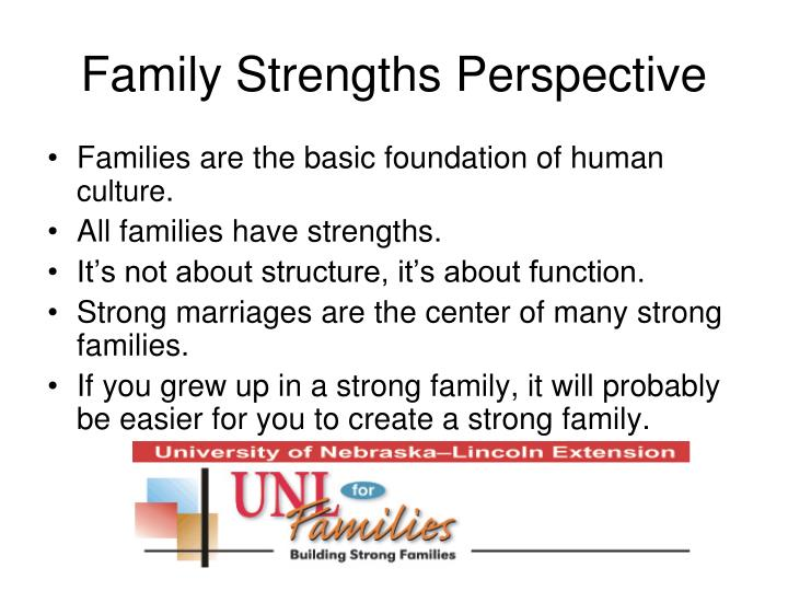 Family Strengths Perspective
