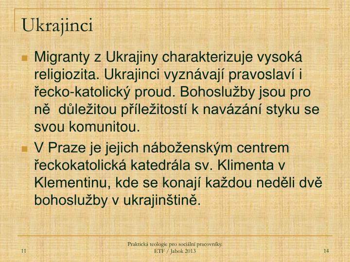 Ukrajinci