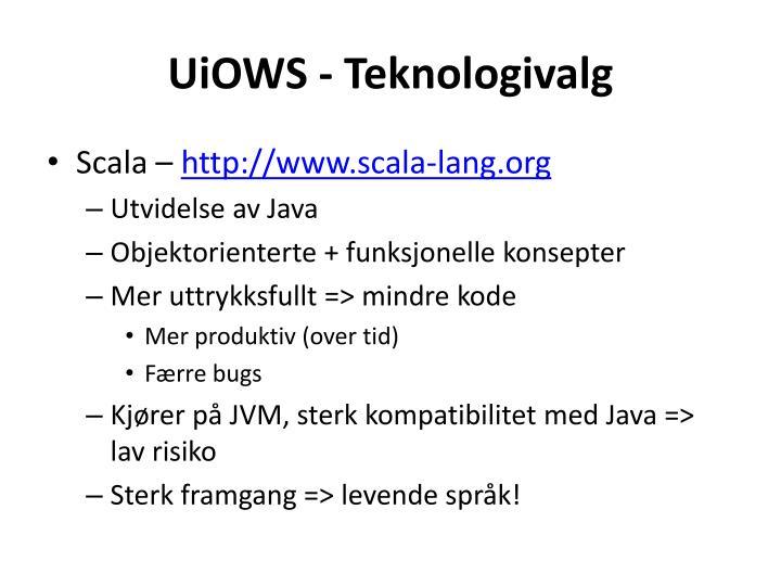 UiOWS