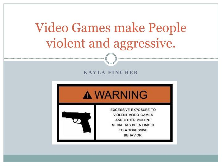 violent video games and aggressive behavior What we actually know about the effects of violent video games on behaviour isn't a link between playing violent video games and showing more aggressive.