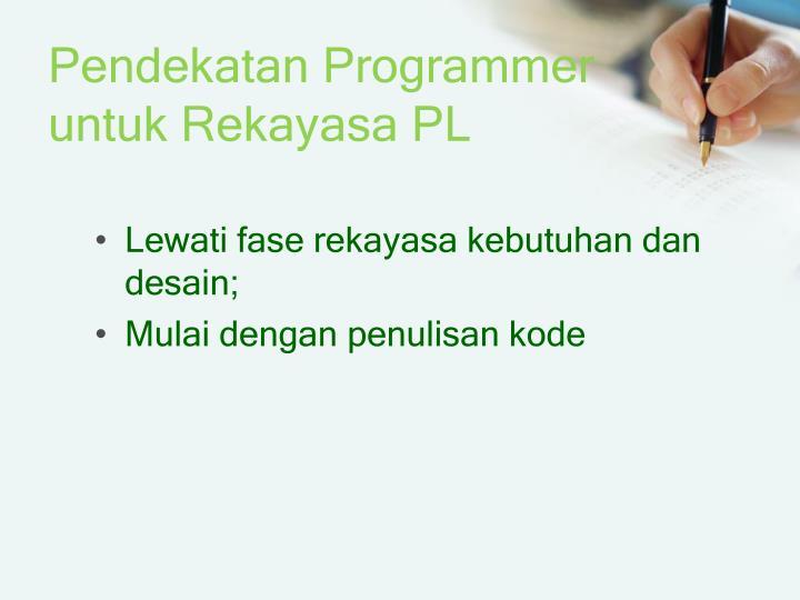 Ppt perancangan perangkat lunak powerpoint presentation id6328569 pendekatan programmeruntuk rekayasa pl ccuart Images