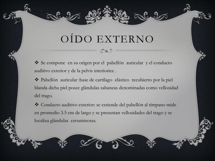 O do externo