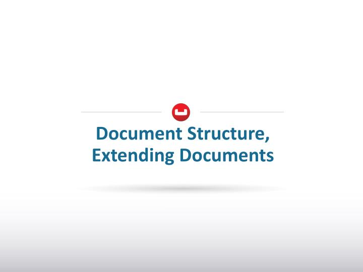 Document Structure,