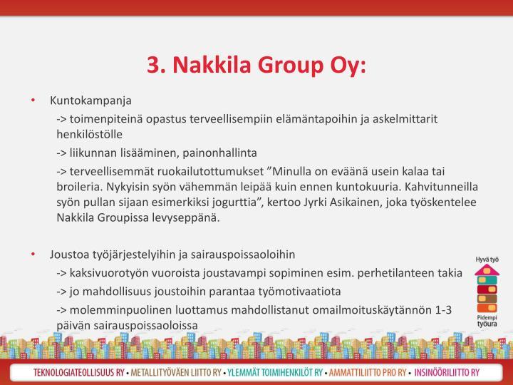 3. Nakkila Group Oy: