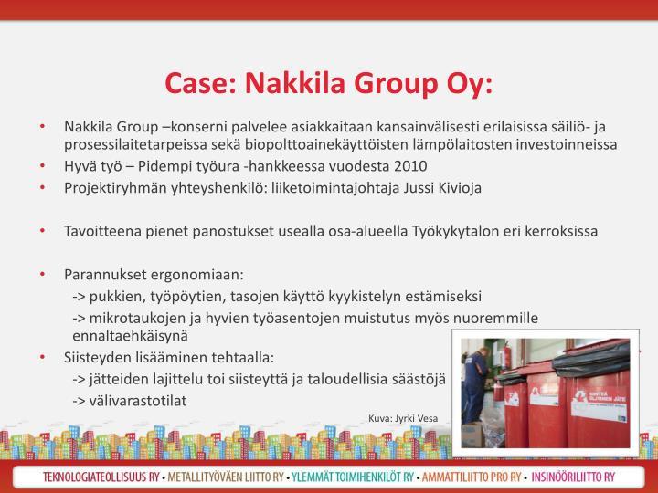 Case: Nakkila