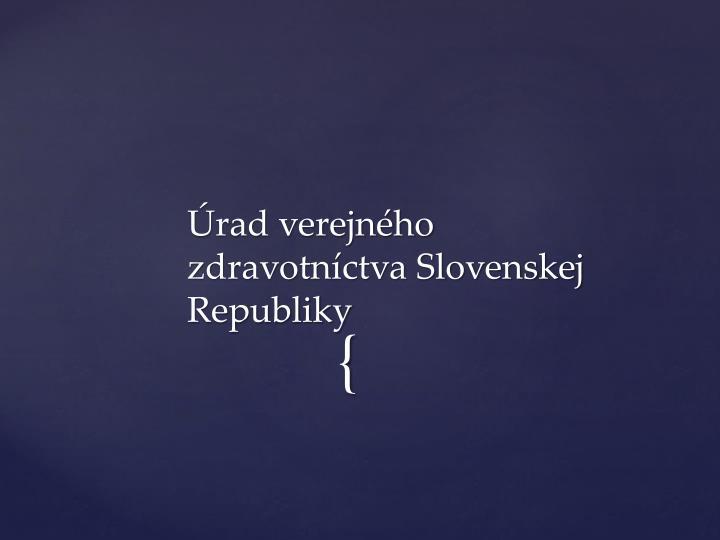 Rad verejn ho zdravotn ctva slovenskej republiky